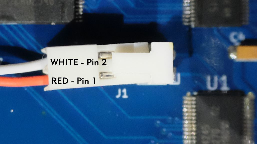 Image showing connecting the MMB to the 14-pin CN209 connector.